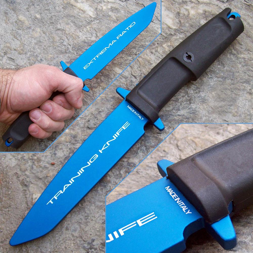 Фото 5 - Нож тренировочный Extrema Ratio Col Moschin, материал алюминий, рукоять прорезиненный форпрен