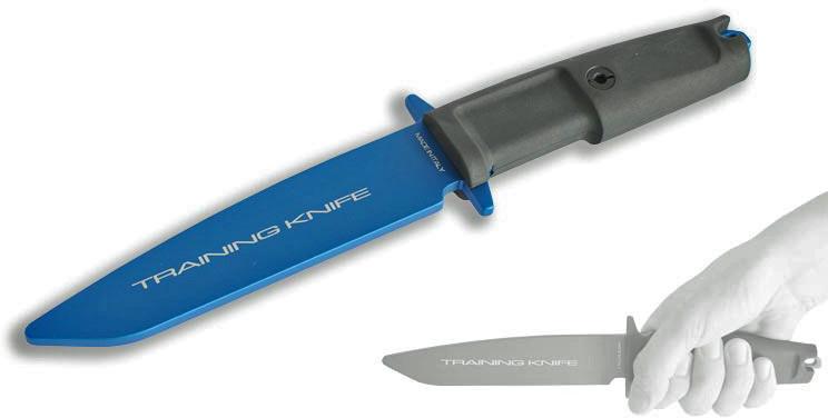 Фото 7 - Нож тренировочный Extrema Ratio Col Moschin, материал алюминий, рукоять прорезиненный форпрен