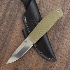 Нож Benchmade 200 Puukko, сталь CPM-3V, рукоять сантопрен