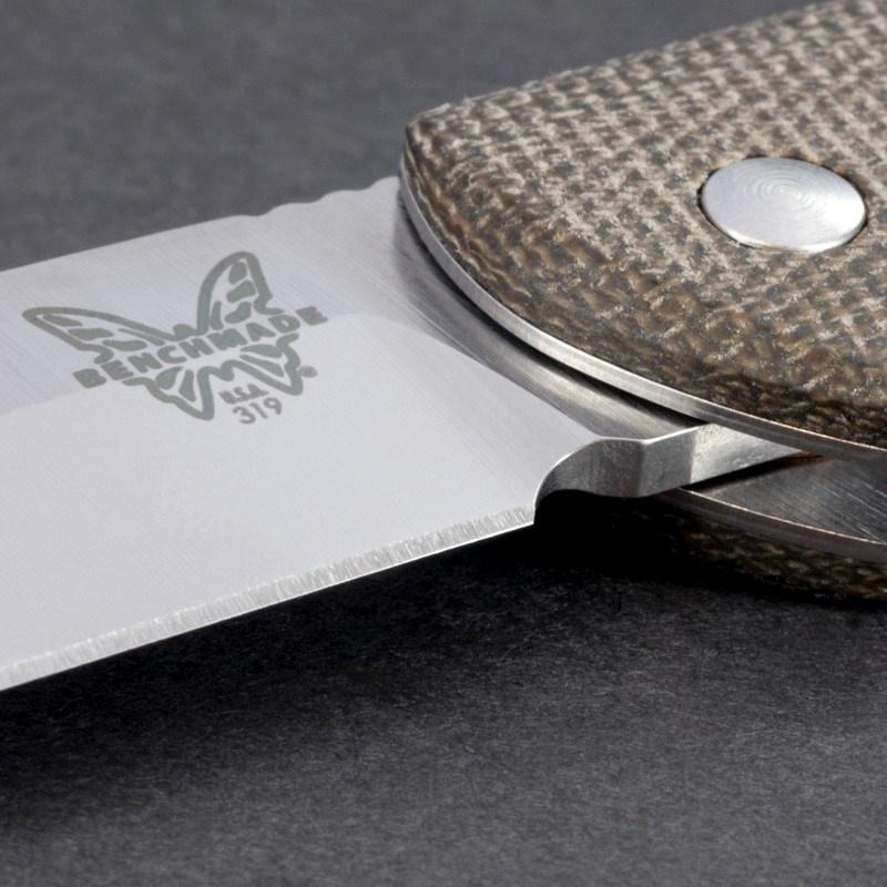 Фото 10 - Нож складной Benchmade 319 Proper, сталь CPM-S30V, рукоять микарта