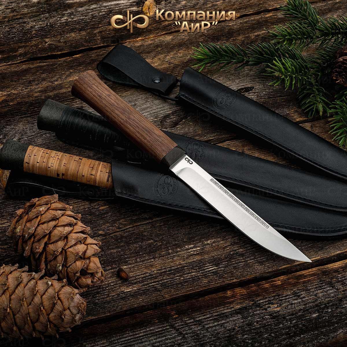 Нож АиР Бурятский малый, сталь 95х18, рукоять дерево цена