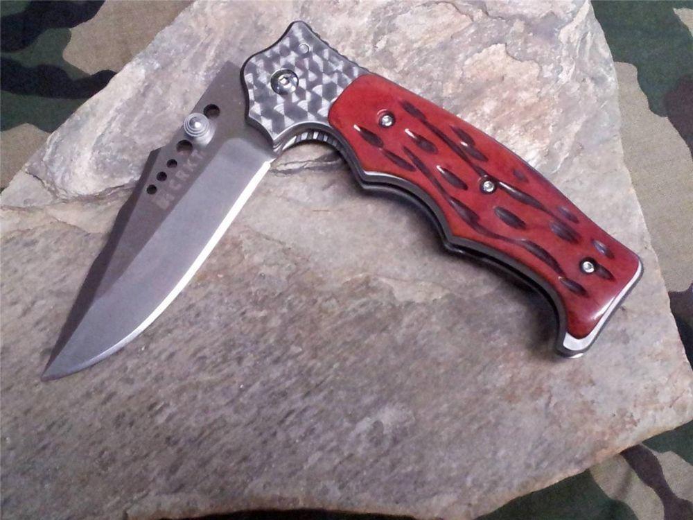 Фото 9 - Полуавтоматический складной нож Natural 2 Jig Bone, CRKT 7080J, сталь 8Cr13MOV, рукоять кость, коричневый