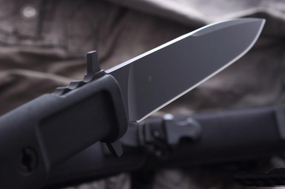 Фото 6 - Нож с фиксированным клинком Extrema Ratio Venom Plain Edge, сталь Bhler N690, рукоять прорезиненный форпрен
