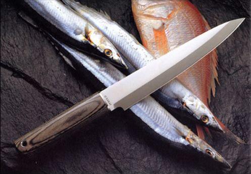 Фото 4 - Нож G.Sakai, SASHIMI, GS-10818, сталь 440