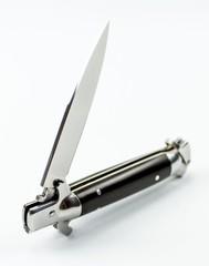 Выкидной нож Флинт, сталь D2