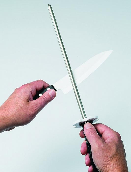 Фото 7 - Мусат алмазный DMT® Fine, рукоять пластик, 600 меш, 25 мкм от DMT® Diamond Machining Technology