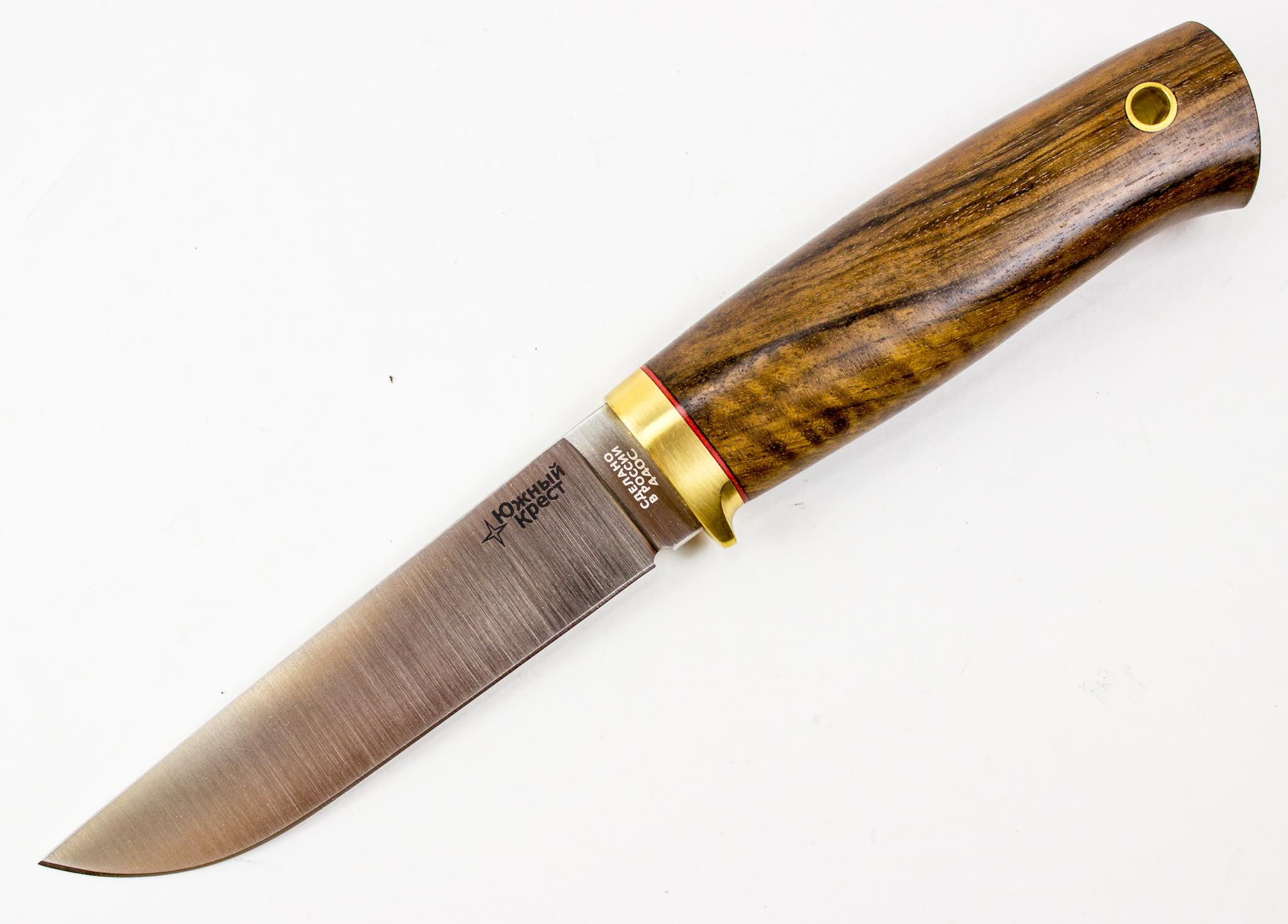 Нож универсальный Сапсан, Южный Крест,440C, орех нож универсальный сапсан граб