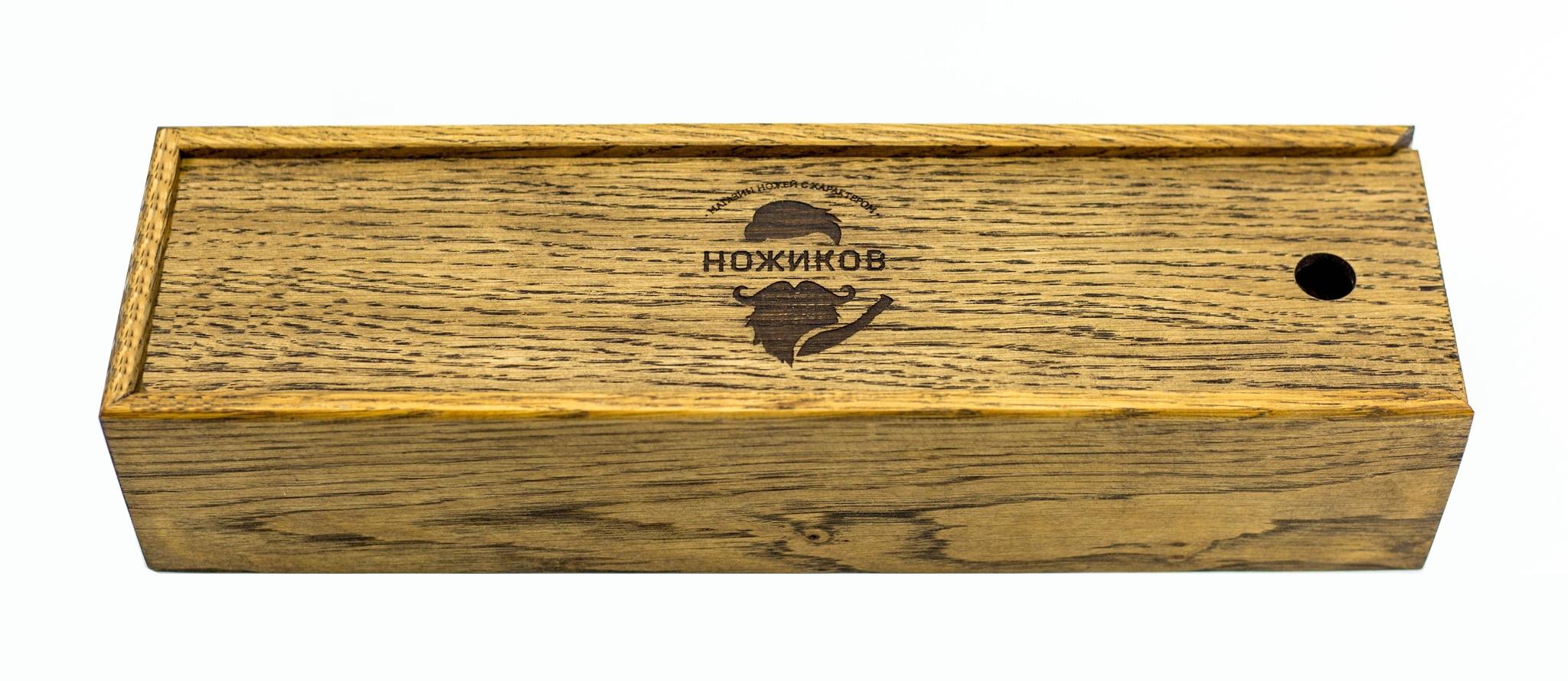 Подарочная коробка для  ножей, дуб от Фабрика деревянных футляров