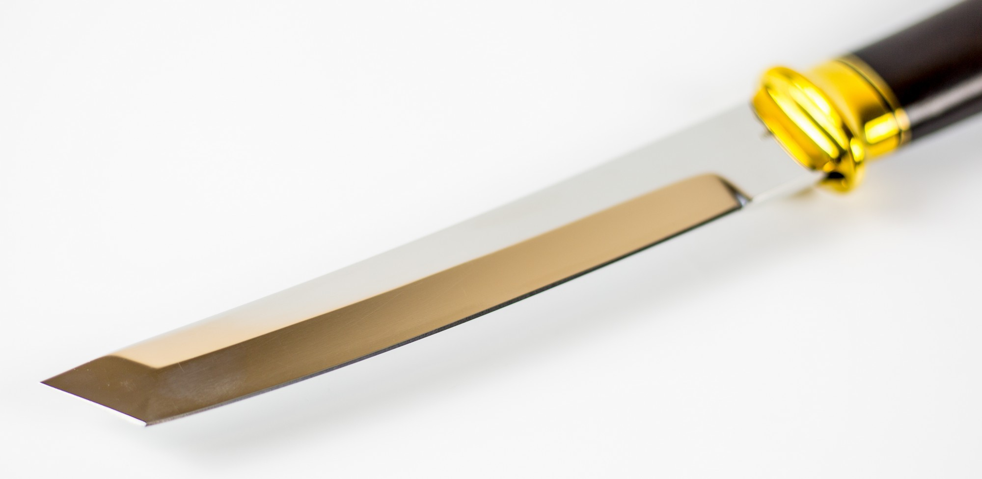 Фото 7 - Нож Танто, сталь 110х18, рукоять граб от Ножи Крутова