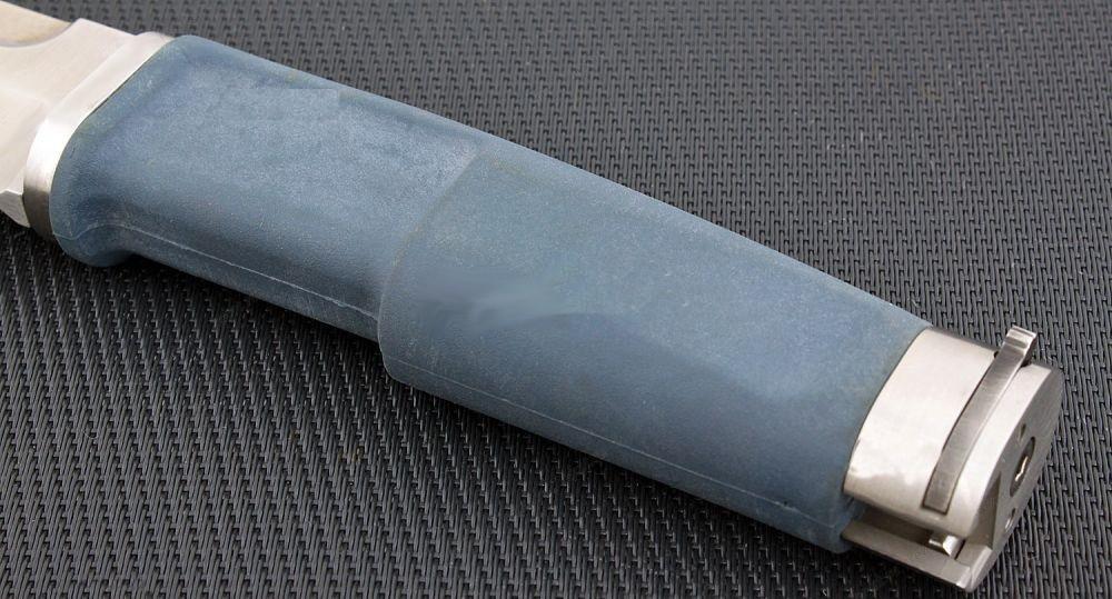 Фото 4 - Нож с фиксированным клинком Extrema Ratio Fulcrum Mil-Spec Bayonet Satin, сталь Bhler N690, рукоять пластик