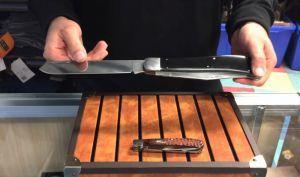Фото 6 - Нож складной большого размера с 2-мя лезвиями Magnum Majestic - Boker 01LL2076, сталь 440A Satin, рукоять ABS-пластик, чёрный