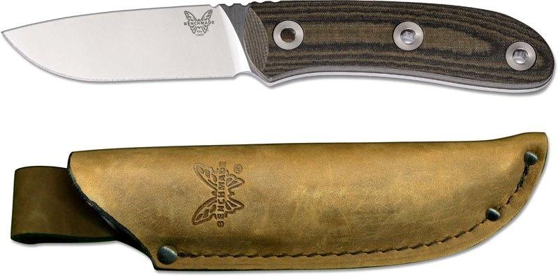 Фото 7 - Нож Pardue Hunter, сталь S30V, рукоять микарта от Benchmade