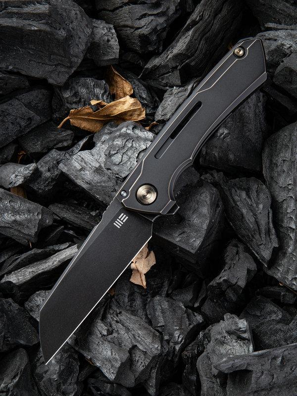 Складной нож WE Knife Mini Buster Antique Bronze, CPM 20CV