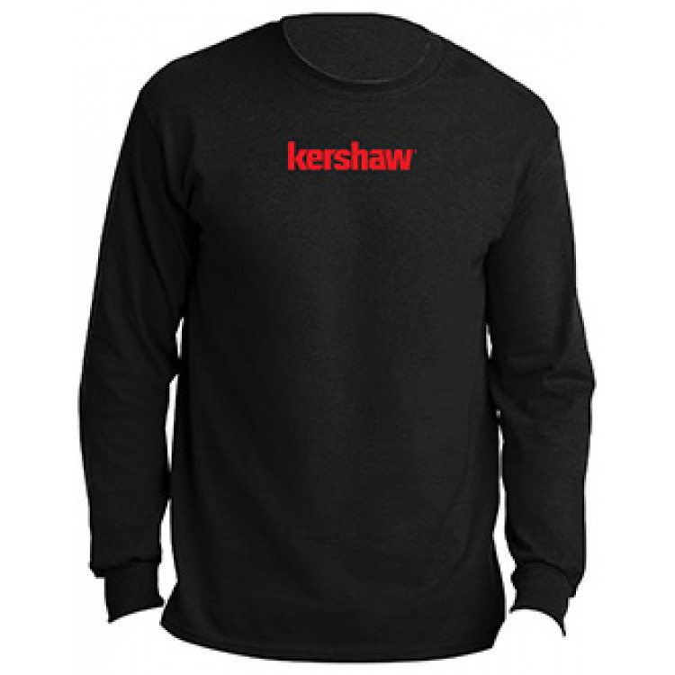 Футболка с длинным рукавом Kershaw KSHIRTKER184L, размер L, черная
