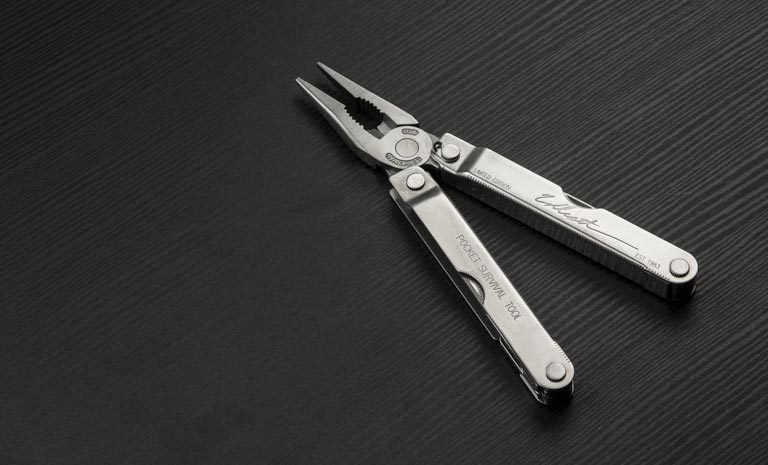 Фото 7 - Мультитул Leatherman  PST Limited Edition с кожаным чехлом