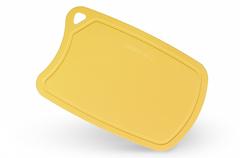 Доска Samura термопластиковая, 380х250х2 мм, желтая