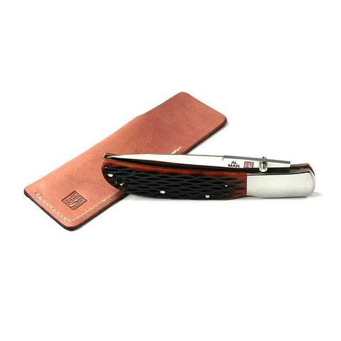 Нож складной Al Mar Eagle Classic, сталь AUS-8 Talon™, рукоять Jigged Bone. Вид 3