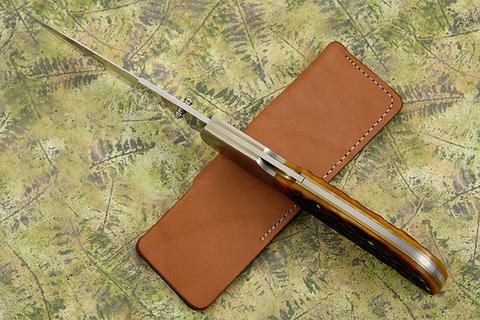 Нож складной Al Mar Eagle Classic, сталь AUS-8 Talon™, рукоять Jigged Bone. Вид 8
