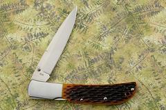 Нож складной Al Mar Eagle Classic, сталь AUS-8 Talon™, рукоять Jigged Bone, фото 9