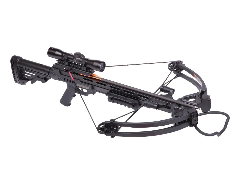 Арбалет блочный Man Kung MK-XB52 Stalker чёрный стоимость