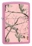 Зажигалка ZIPPO REALTREE APC™ с покрытием Pink Matte - купить в интернет магазине
