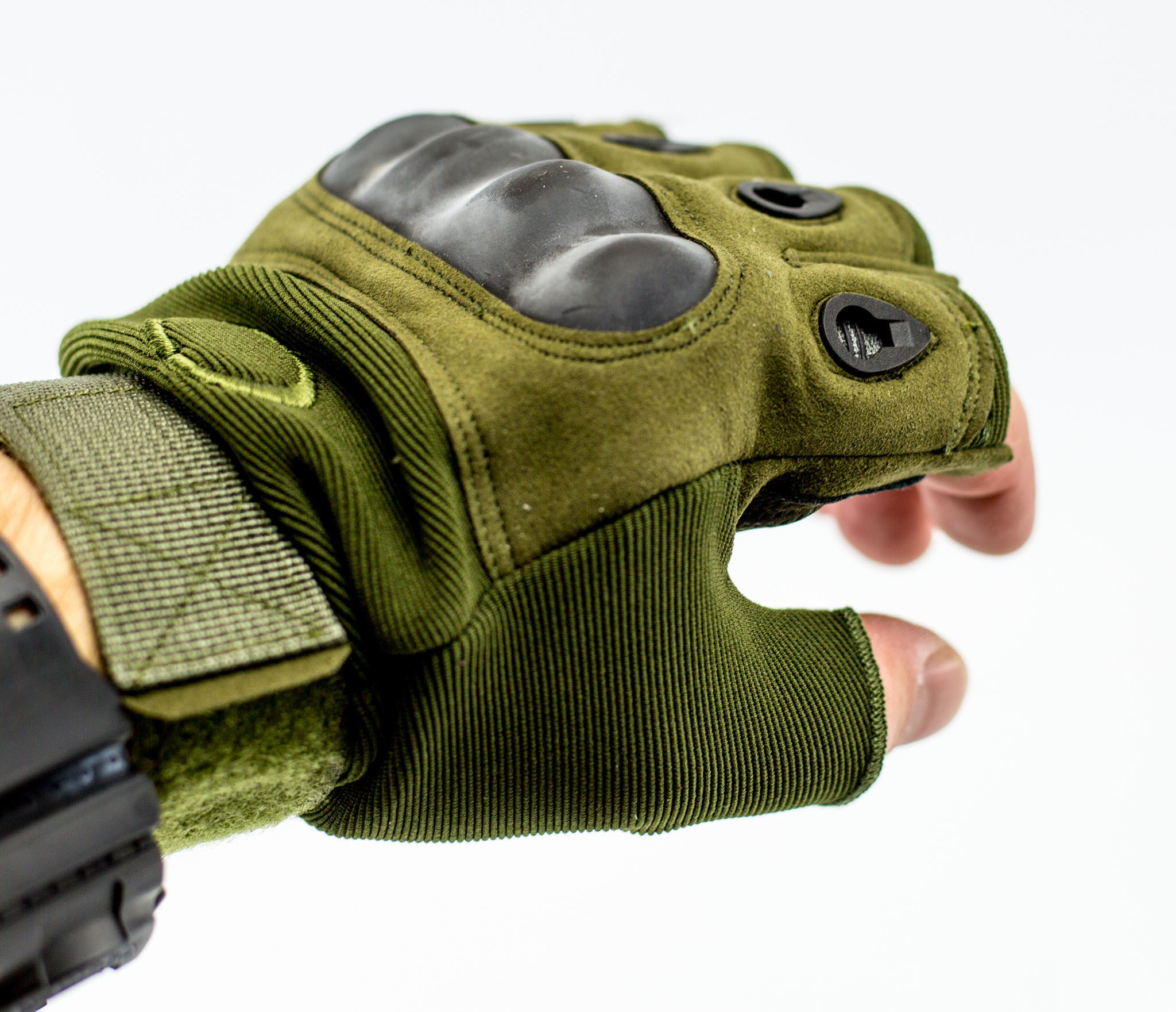 Тактические перчатки без пальцев, армейские , размер XL от China Factory