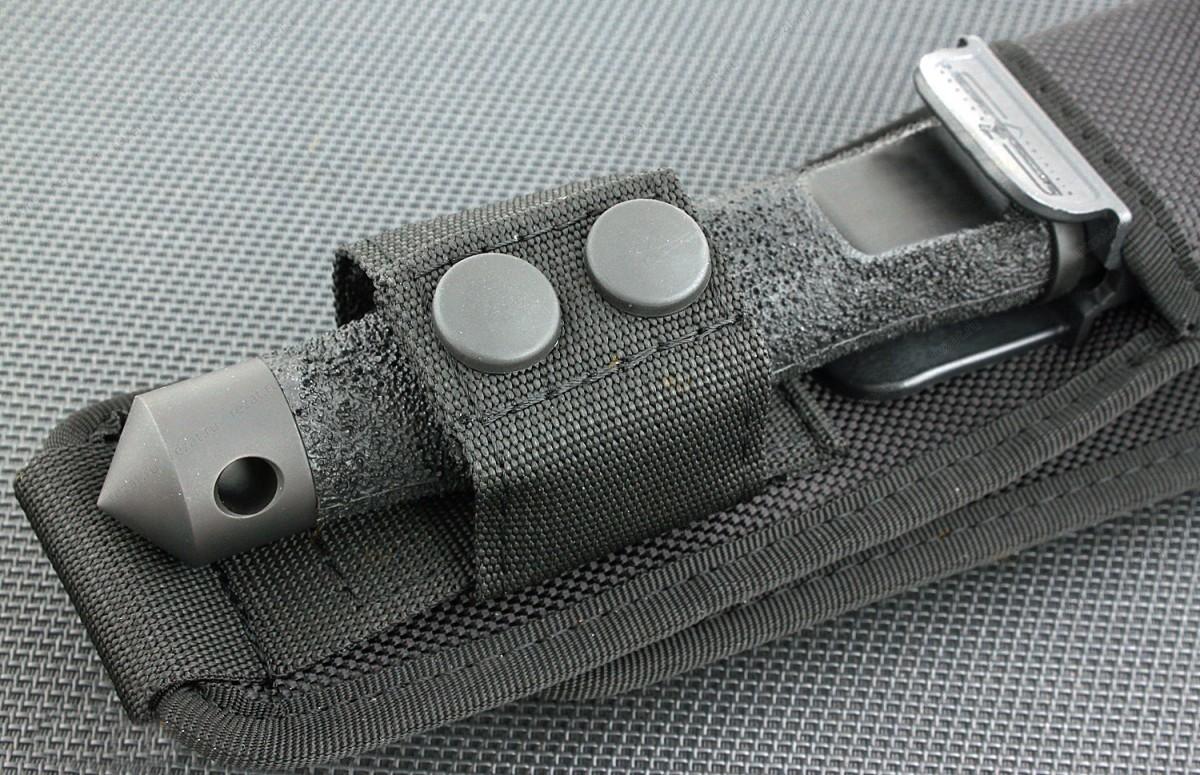 Фото 6 - Нож с фиксированным клинком Extrema Ratio Adra Compact Black (Single Edge), сталь Bhler N690, рукоять полиамид