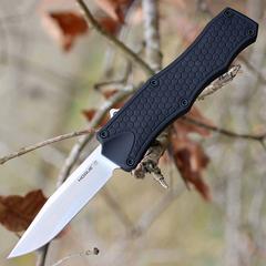 Нож складной Hogue OTF Auto, сталь CPM® 154, рукоять алюминиевый сплав, чёрный, фото 3