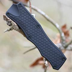 Нож складной Hogue OTF Auto, сталь CPM® 154, рукоять алюминиевый сплав, чёрный, фото 6