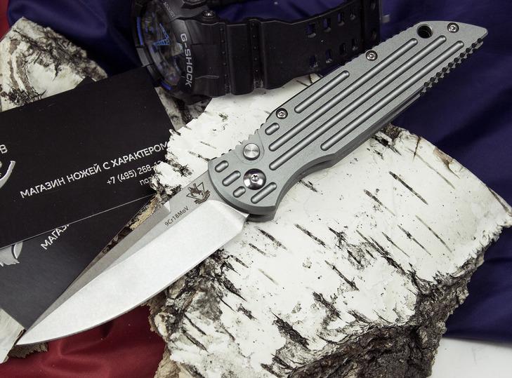Фото 4 - Выкидной автоматический нож Кент от Steelclaw