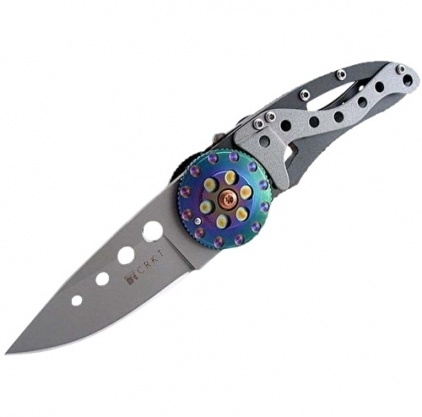 Складной нож CRKT Snap Fire, сталь Aus 8, рукоять нержавеющая сталь