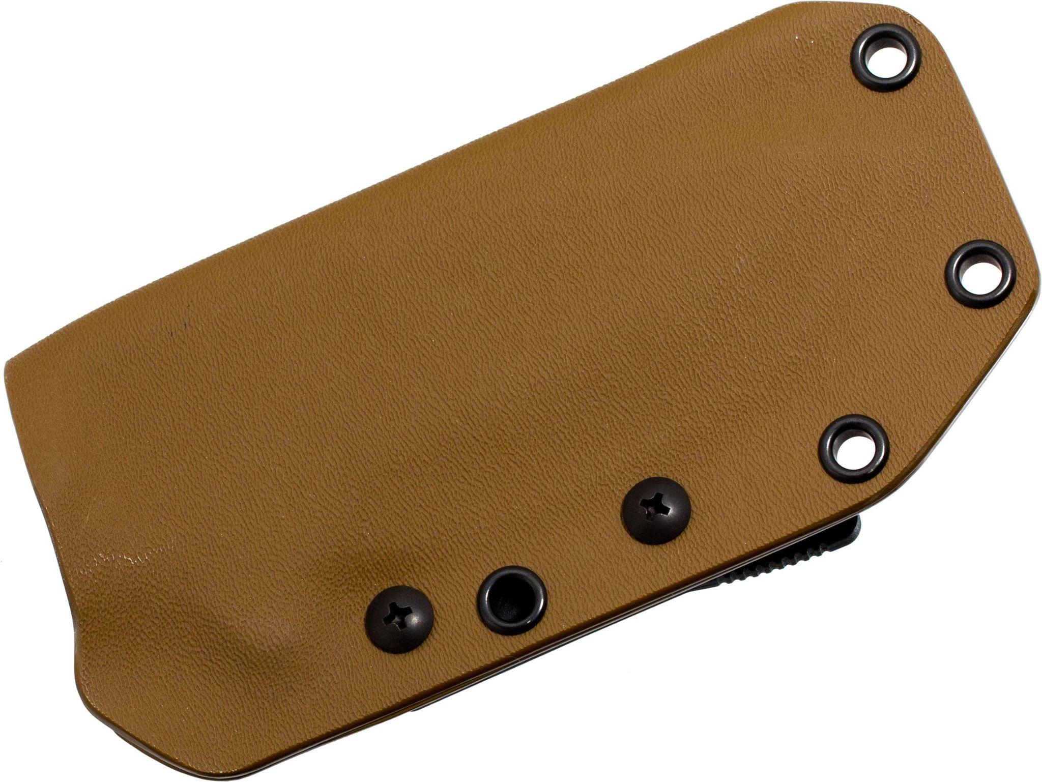 Фото 5 - Нож с фиксированным клинком Medford NAV-T, сталь D2 Black Oxide, рукоять паракорд, зеленый