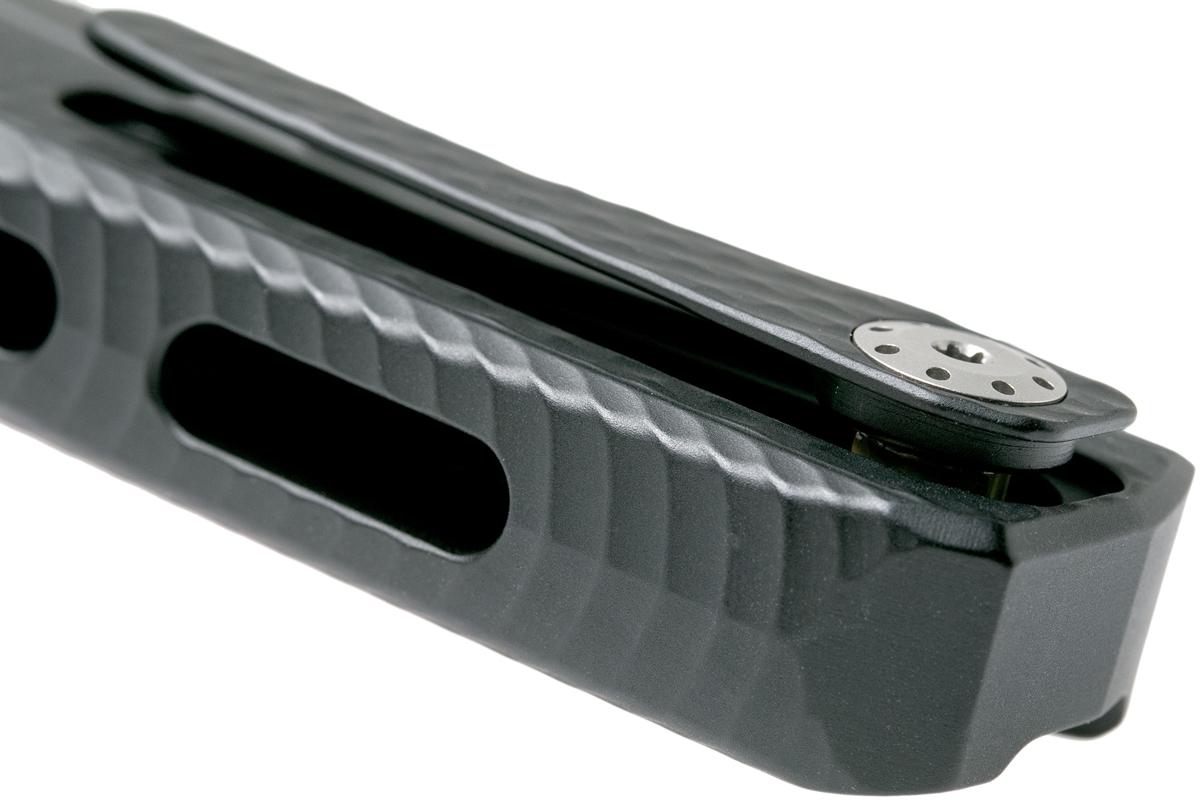 Фото 9 - Нож складной LionSteel ROK A BB, сталь Black DLC-Coated Bhler M390, рукоять алюминий, чёрный от Lion Steel