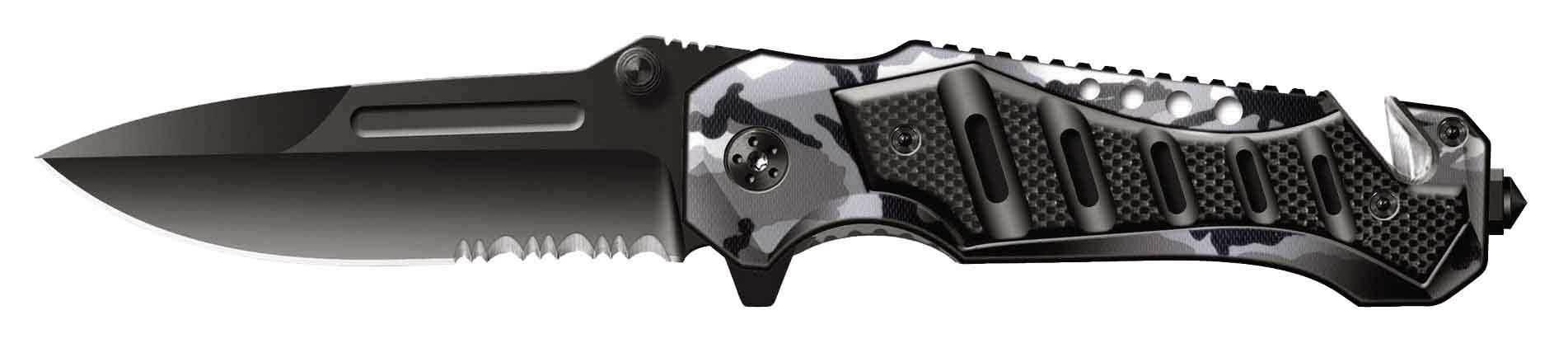 Нож складной Stinger SA-582DW, сталь 420, алюминий нож складной stinger sa 435b сталь 420 алюминий