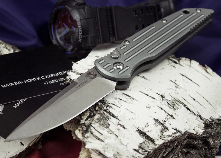 Фото 5 - Выкидной автоматический нож Кент от Steelclaw