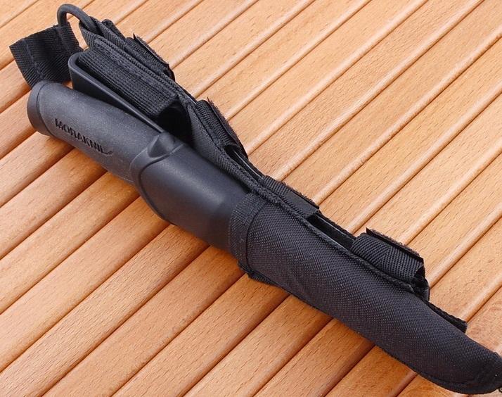 Фото 11 - Нож с фиксированным лезвием Morakniv Companion Tactical BlackBlade, сталь Sandvik 12С27, рукоять эластомер