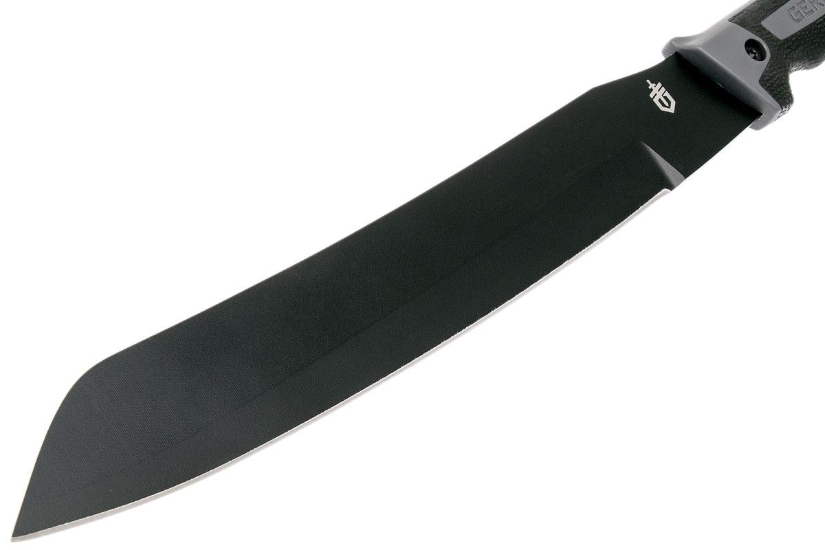 Фото 5 - Мачете Gerber - Gator Golok Machete, сталь 65MN Carbon Steel Black Finish, рукоять ударопрочный пластик