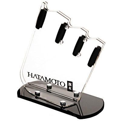 Фото 2 - Подставка универсальная Hatamoto, FST-R-002, пластик, 3 ножа