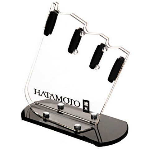 Подставка универсальная Hatamoto, FST-R-002, пластик, 3 ножа