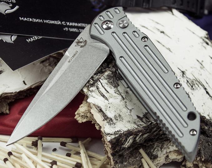 Фото 6 - Выкидной автоматический нож Кент от Steelclaw
