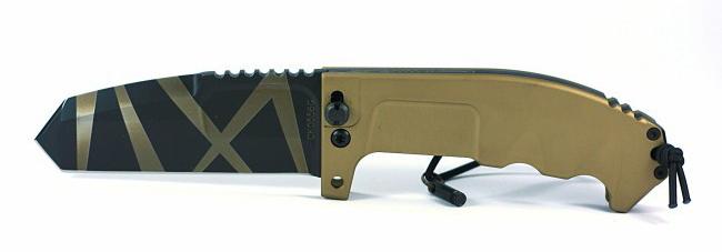 Фото 3 - Складной нож Extrema Ratio RAO Desert Warfare, сталь Bhler N690, алюминий