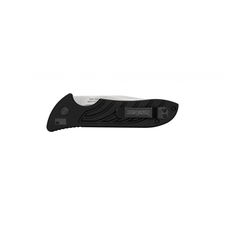 Фото 12 - Полуавтоматический складной нож Launch 5 KERSHAW 7600, сталь клинка Crucible CPM® 154, рукоять анодированный алюминий черного цвета