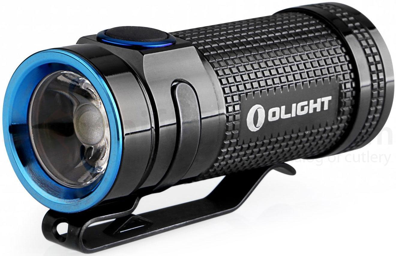 Фонарь Olight S Mini CU Black Onyx, черный