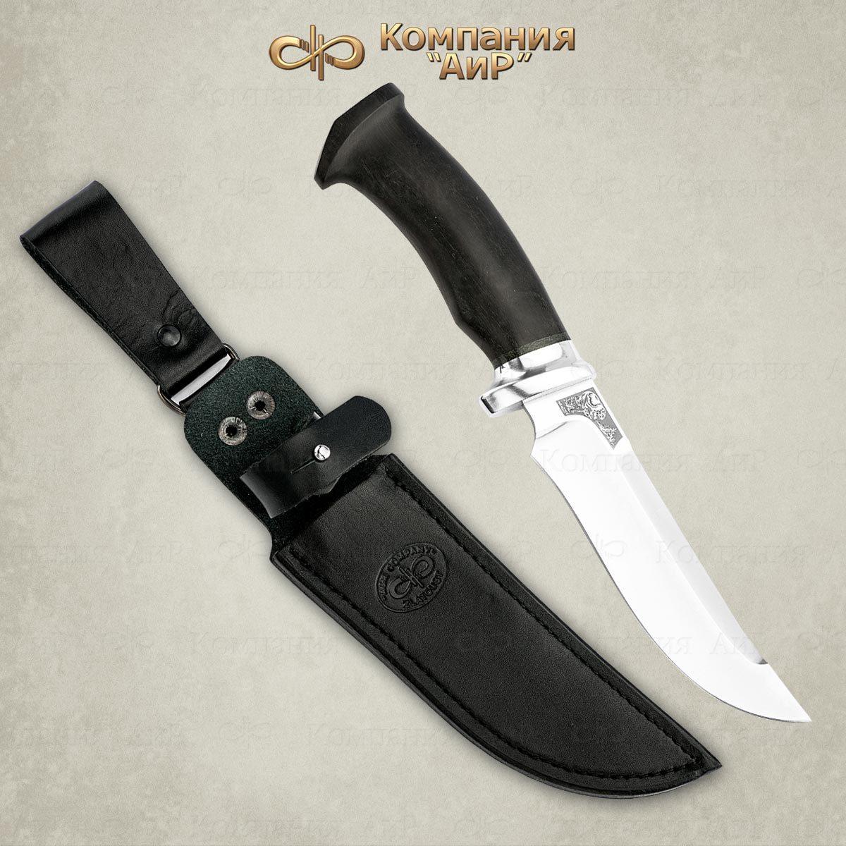 Фото - Нож разделочный АиР Росомаха, сталь 110х18 М-ШД, рукоять граб нож казацкий засапожный сталь 110х18 рукоять граб