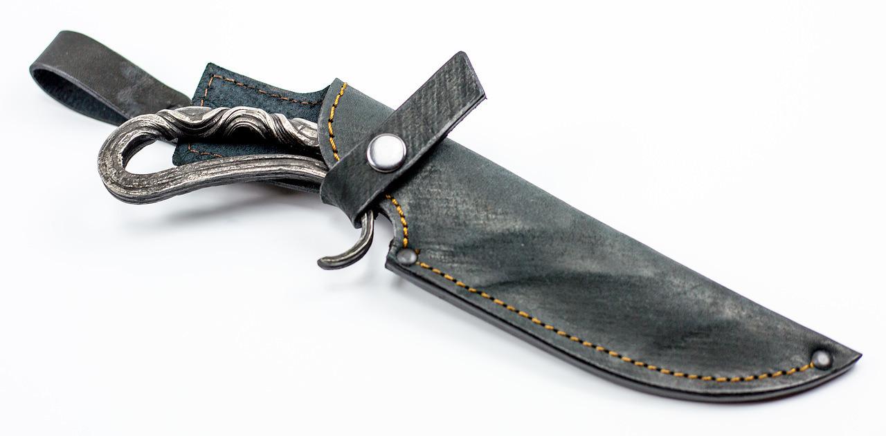 Фото 12 - Нож Эксклюзивный, дамаск от АТАКА