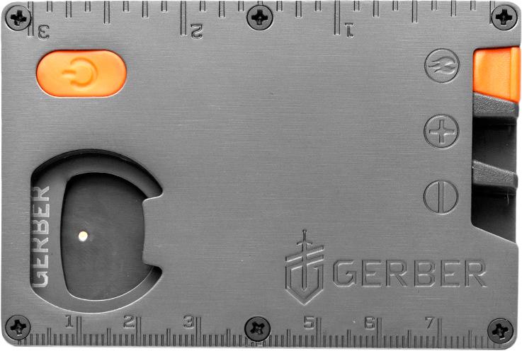 Фото 6 - Мультитул Gerber Bear Grylls Card Tool, нержавеющая сталь от BearGrylls