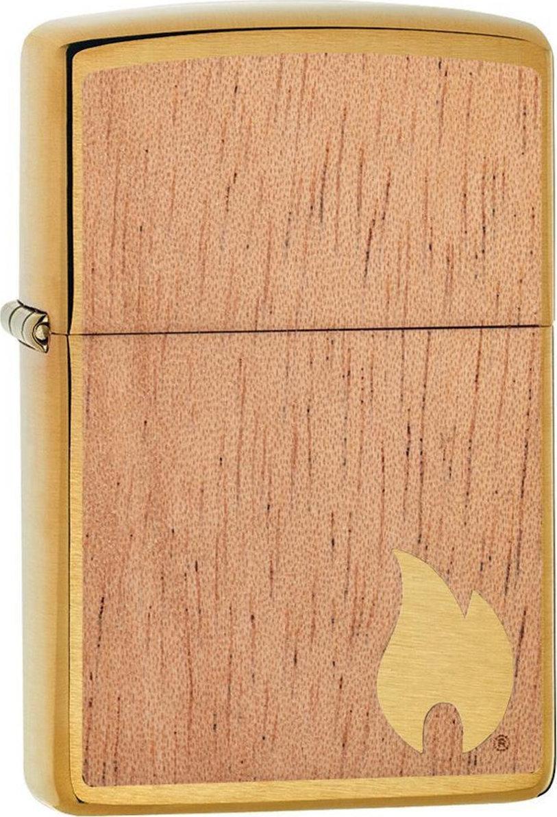 Зажигалка ZIPPO WOODCHUCK с покрытием Brushed Brass, латунь/сталь/, золотистая, матовая, 36x12x56 мм зажигалка zippo woodchuck с покрытием brushed brass латунь сталь золотистая матовая 36x12x56 мм