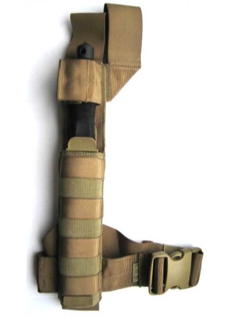 Фото 6 - Нож с фиксированным клинком Extrema Ratio Adra Operativo Desert Warfare - Laser Engraving (Double Edge), сталь Bhler N690, рукоять полиамид