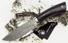 Нож Старатель, дамасская сталь