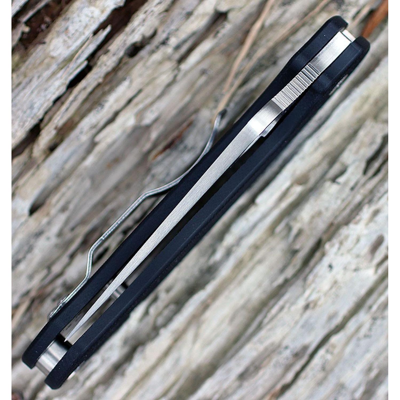 Фото 11 - Нож складной Para™ 3 Lightweight Spyderco 223GP, сталь Crucible CPM® S30V™ Satin Plain, рукоять стеклотекстолит G-10 чёрный